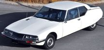 Citroën SM blanche moteur Masérati