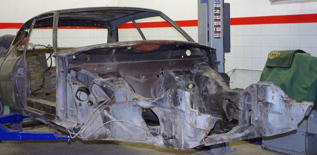 Atelier-Amedee-mecanique auto Perpignan Citroen SM de course 2