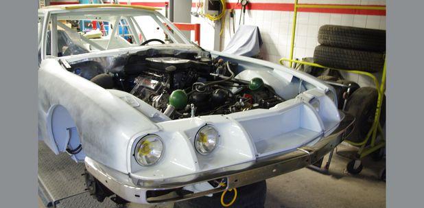 Atelier-Amedee-mecanique auto Perpignan Citroen SM de course 24