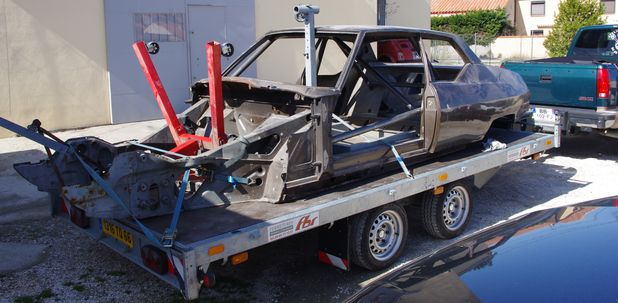 Atelier-Amedee-mecanique auto Perpignan Citroen SM de course 4