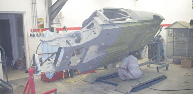 Atelier-Amedee-mecanique auto Perpignan Citroen SM de course 5