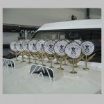 Ces trophées ont été offert à tous les participants ayant réalisé une galette des rois lors de notre concours en 2011.